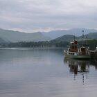 Pooley Bridge Ferry on Ullswater England's Lakes by albyw