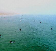 """Manhattan Beach - Early Morning Surf"" by Glenn McCarthy"
