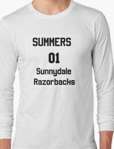 Summers unofficial chosen one jersy Long Sleeve T-Shirt