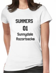 Summers unofficial chosen one jersy Womens Fitted T-Shirt