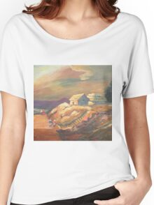 One Sunset Village Women's Relaxed Fit T-Shirt