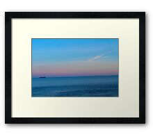 Open Ocean Framed Print