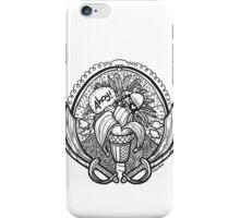 Banana Pirate! B&W iPhone Case/Skin