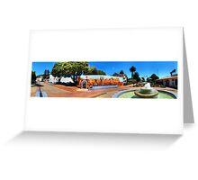 Ventura Figueroa Plaza Greeting Card