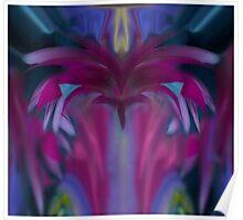 Floral Chandelier Poster