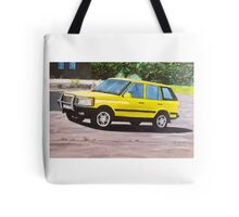 'Layer Cake' Range Rover Tote Bag
