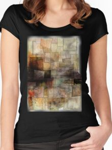 segments # 4 Women's Fitted Scoop T-Shirt