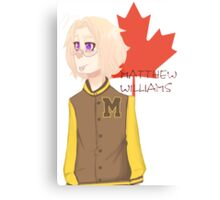 Matthew Williams-Highschool outfit  Metal Print