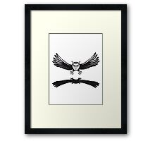 Fly OWL spread hunt Framed Print