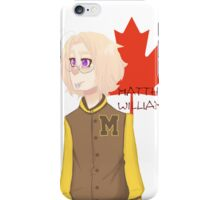 Matthew Williams-Highschool outfit  iPhone Case/Skin