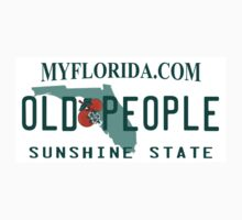 Florida License Plate Design - Florida Old People by magzmt