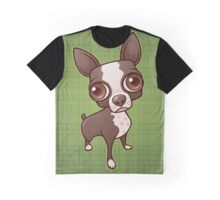 Zippy the Boston Terrier Graphic T-Shirt