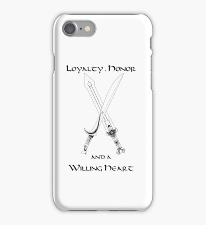 Thorin Oakenshield : Loyalty iPhone Case/Skin