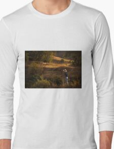 Who let the horse out? II Long Sleeve T-Shirt