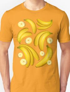 Banana Fruity Pattern  Unisex T-Shirt