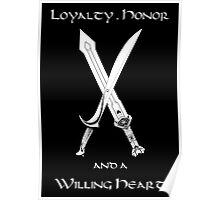 Thorin Oakenshield : Loyalty  -white- Poster
