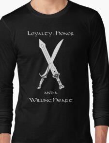 Thorin Oakenshield : Loyalty  -white- Long Sleeve T-Shirt
