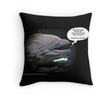 That's a moray - Tote bags Throw Pillow