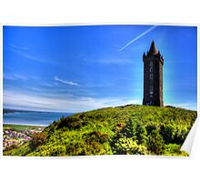 Scrabo Tower Poster