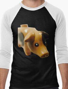 The Pig! Men's Baseball ¾ T-Shirt