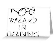 wizard in trainiNg Greeting Card