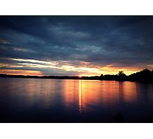 Abendrot am Steinberger See Photographic Print