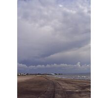 Troon's seaside view Photographic Print