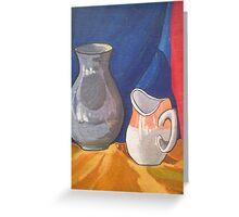 Still Life Painting Greeting Card