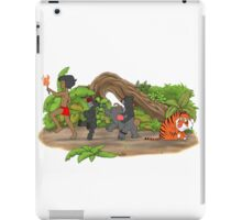 Red Flower March iPad Case/Skin
