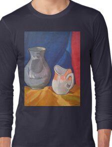 Still Life Painting Long Sleeve T-Shirt