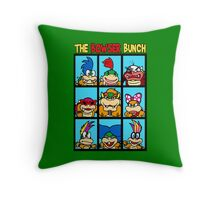 The Bowser Bunch Throw Pillow