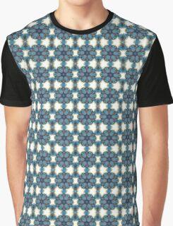 Starry Mandala Graphic T-Shirt