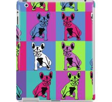 French Bulldogs in color iPad Case/Skin