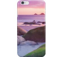 Porth Nanven Sunset iPhone Case/Skin