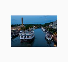 Moon over the Erie Canal Unisex T-Shirt