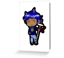 Chibi Law Greeting Card