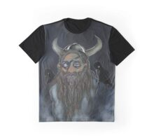 Odin in the Mist Graphic T-Shirt