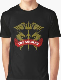 The Treasurer Coat-of-Arms Graphic T-Shirt