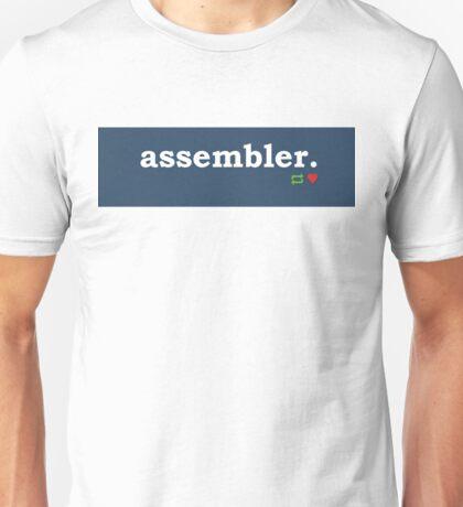 Tumblr-Themed Assembler Tee Unisex T-Shirt