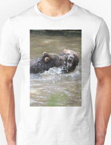 Grizzlis fighting Unisex T-Shirt