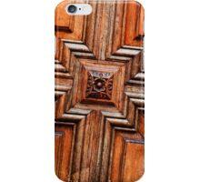 Wood door iPhone Case/Skin