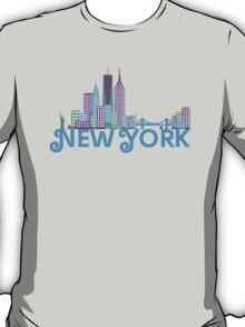 Skyline of New York T-Shirt