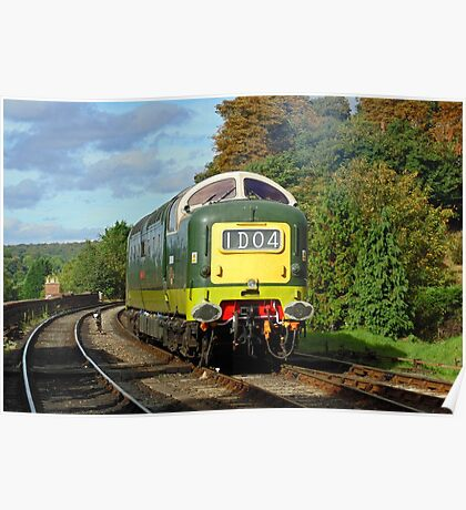 D9009 'Alycidon', Severn Valley Railway Poster
