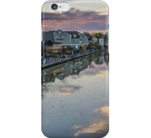 Cloud Reflection in the Erie Canal iPhone Case/Skin