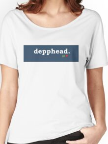 Tumblr-Themed Depphead Tee Women's Relaxed Fit T-Shirt