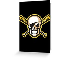 Bradenton Marauders Alternative Logo Greeting Card