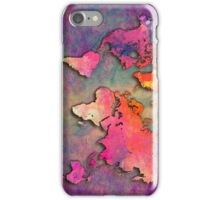 World Map special 4 iPhone Case/Skin