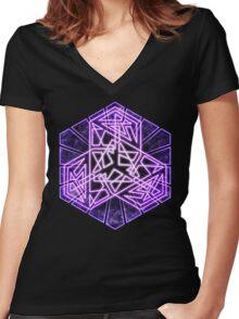 Infinitiae Women's Fitted V-Neck T-Shirt