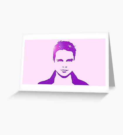 Cutout Series: 02 Sebastian Stan Greeting Card