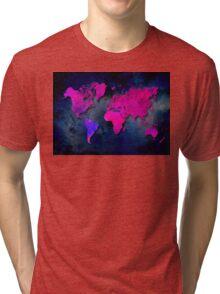World map special 7 Tri-blend T-Shirt